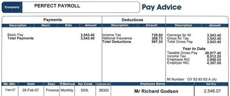 malaysia payslip template exles of salary slip in malaysia and employee