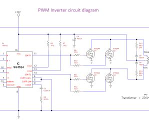 single phase pwm inverter circuit diagram irfz44 archives theorycircuit do it yourself