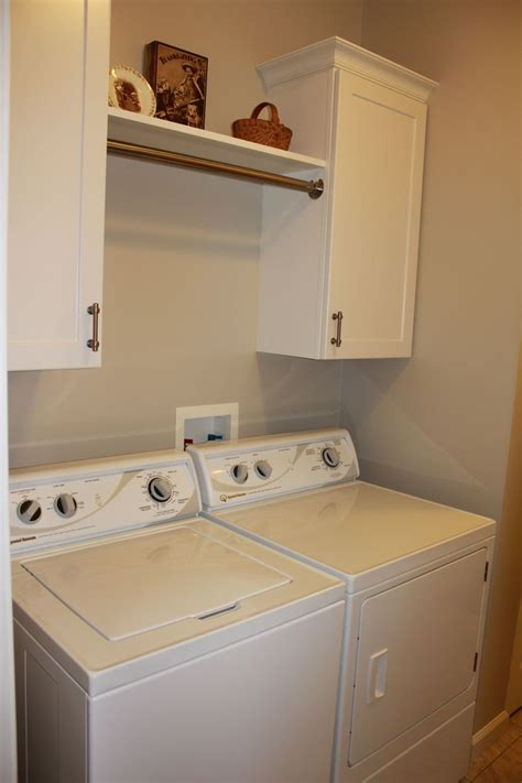 laundry room cabinets with hanging rod the gallery for gt laundry room cabinets with hanging rod