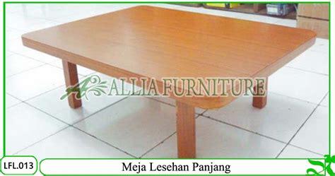 Meja Untuk Lesehan Meja Lesehan Klender Model Panjang Allia Furniture