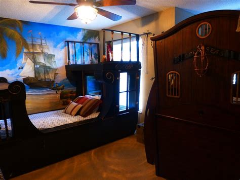themed boys bedroom handsome designs of pirate for your idea little boys ideas