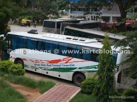 ksrtc bengaluru volvo  start  aanavandi travel blog