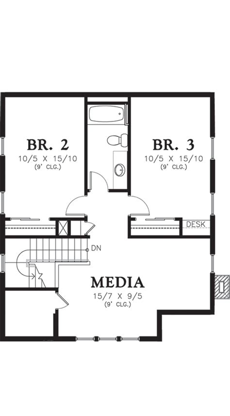 houseplan com cottage style house plan 3 beds 2 50 baths 1915 sq ft