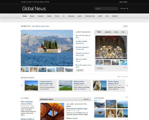 drupal themes for news portal 105 best free and premium drupal themes webprecis
