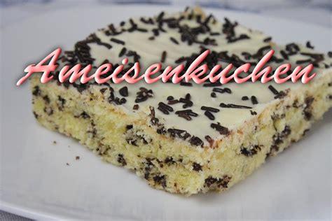 leichte schnelle leckere kuchen rezepte ameisenkuchen rezept schneller blechkuchen mit eierlik 246 r