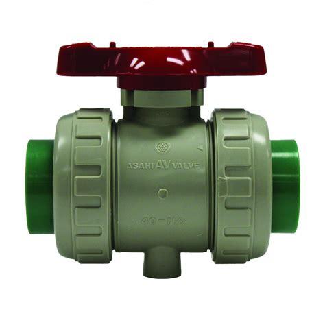 Water Mur 1 14 Union Socket 1 14 Sova Tebal Asahitec Pp Rct 110mm Type 21 True Union Diaphragm Valve