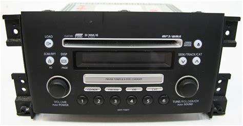 Suzuki Grand Vitara Radio Suzuki Grand Vitara 2006 2008 Factory 6 Disc Mp3 Cd Player
