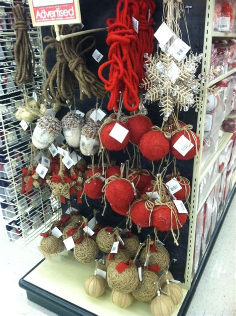 hobby lobby burlap christmas ornaments celebrate