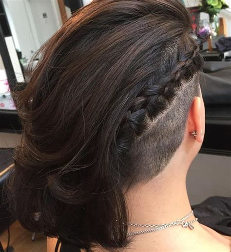 extra sure bob haircut buzzed nape 2015 50 women s undercut hairstyles to make a real statement