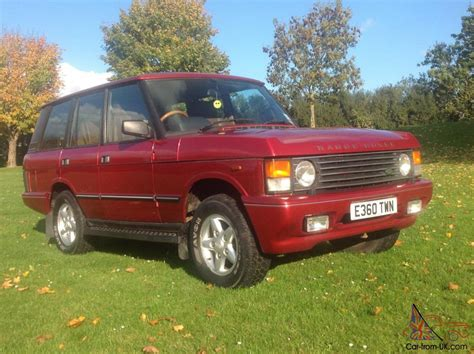red land rover old range rover hse ebay autos post