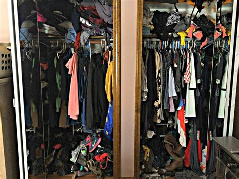 How To Downsize Your Closet how to downsize from two closets to one finding silver