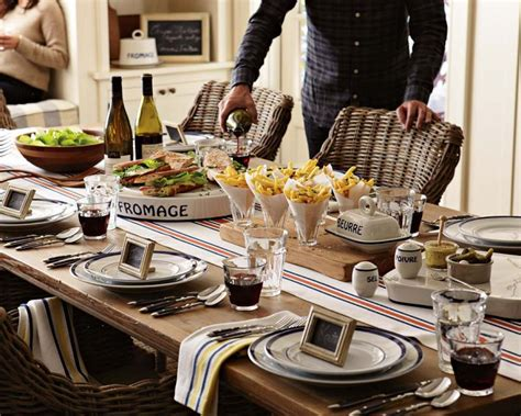 Southern Living Home Decor Party weekend entertaining bistro brunch williams sonoma taste