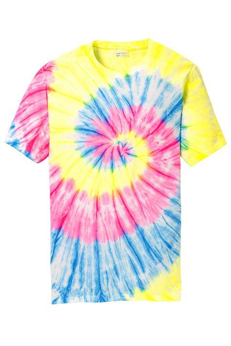 Valino Avocado Tie Front port company 174 tie dye 100 cotton t shirts sanmar