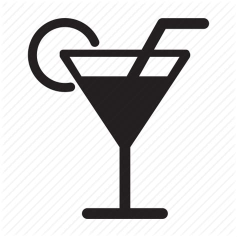 drink icon png cocktail drink food glass martini straw icon icon