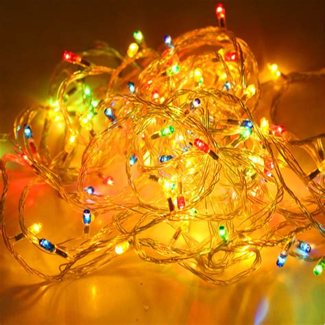 new year 2016 tree decorations 4m tree decorative pendant color led rice light