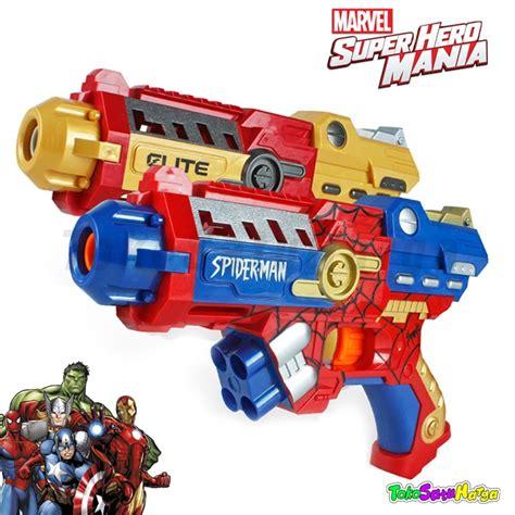 Pistol Brave Soft Peluru jual mainan nerf pistol dgn peluru lunak soft bullet bestoko