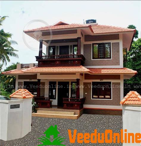 home patterns double floor kerala home design 1100 square feet
