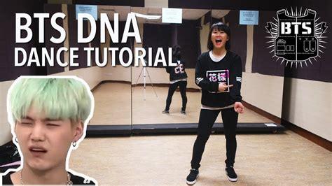 tutorial dance bts dna bts 방탄소년단 dna dance tutorial full w mirror