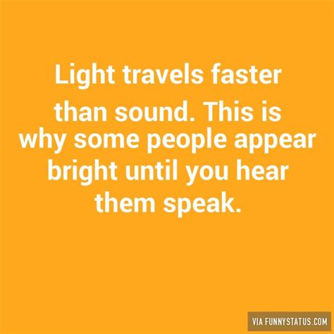 Which Is Faster Sound Or Light by Light Travels Faster Than Sound This Is Why Some