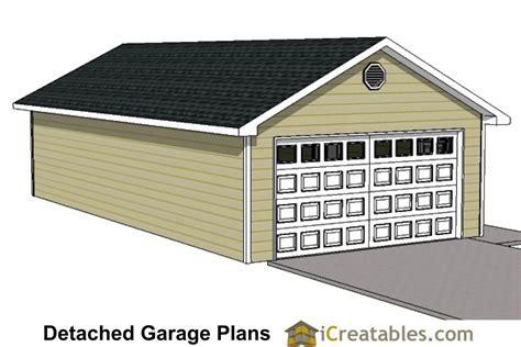 20x24 1 car detached garage plans download and build 20x40 garage plans 20x40 detached garage plans