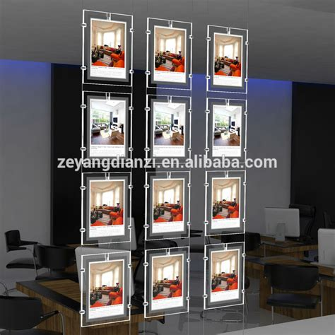 window light box frameless lightbox shop led lighted advertising window