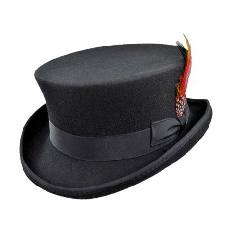 Hats To You by Jaxon Hats Deadman Wool Felt Top Hat Top Hats