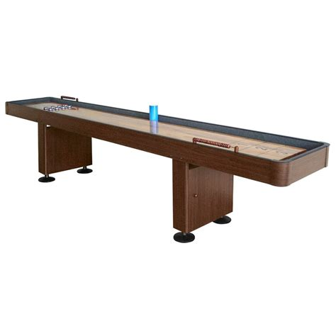 9 shuffleboard table 9 deluxe walnut shuffleboard table shuffleboard