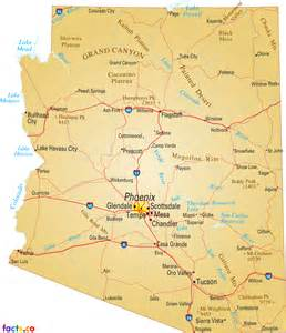 Arizona Map Pdf by Arizona Map Blank Political Arizona Map With Cities