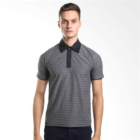 Kaos Pria Polo Shirt Navygrey Black 290 your favourite apparel blibli