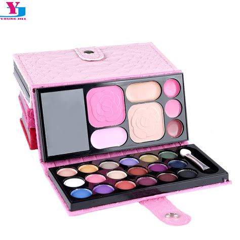 Set Kuas Makeup Murah Blush On Eyeshadow 2016 new makeup set eyehsadow palette blush brow powder cosmetic sets professionales matte lip