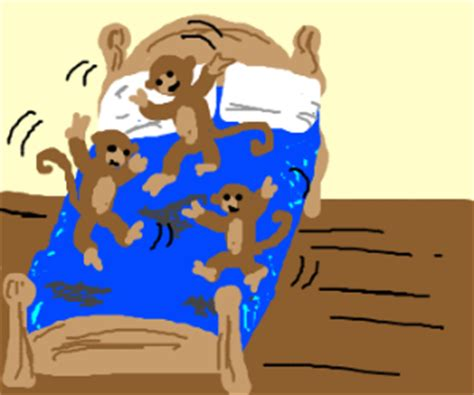 4 little monkeys jumping on the bed 3 little monkeys jumping on the bed