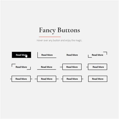 responsive design hover effect fancy button hover effects design web web development