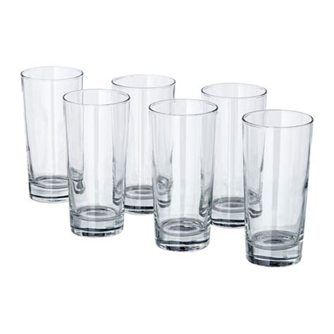 ikea bicchieri vetro godis bicchiere ikea