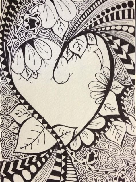 intricate heart coloring pages pinterest discover and save creative ideas