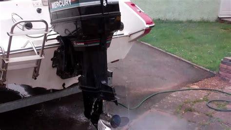 mercury boat motor repair videos mercury 135hp black max boat outboard engine youtube