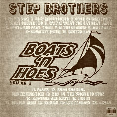 boats n hoes instrumental nutt b twan the great stepbrothers boats n hoes vol 1
