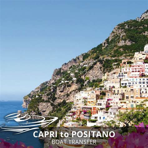 capri to positano private boat transfer positano shuttle bus - Positano To Capri Private Boat