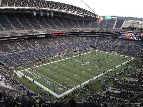 what sections are covered at centurylink field centurylink field section 343 seattle seahawks