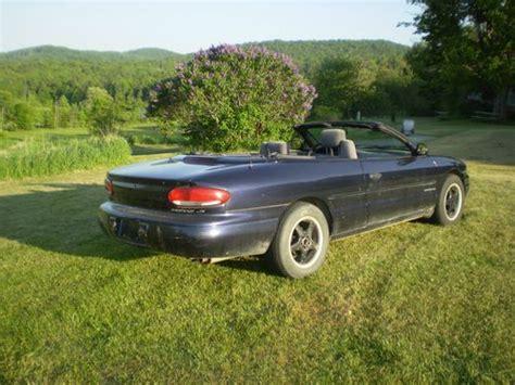 1997 Chrysler Sebring Convertible by Buy Used 1997 Chrysler Sebring Convertible In Corinth