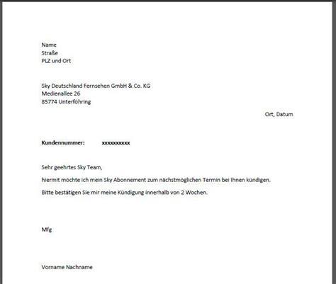 Vorlage Kündigung Abo Englisch vodafone k 252 ndigung vorlage k 252 ndigung vorlage fwptc