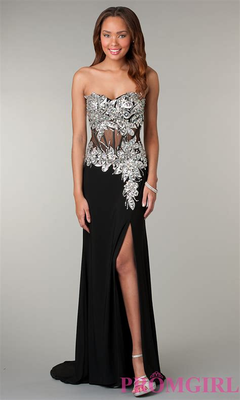 Black And Silver Evening by Black And Silver Homecoming Dresses Www Imgkid The