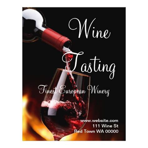 62 wine tasting flyers wine tasting flyer templates and