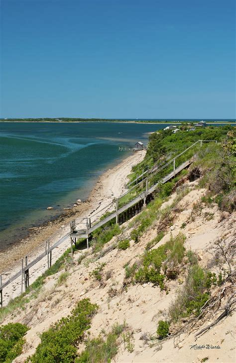 Martha S Vineyard Chappaquiddick A View From Chappaquiddick Island Marthas Vineyard Massachusetts By Wiarda