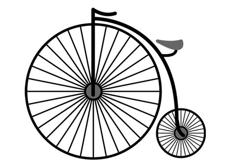 imagenes de bicicletas faciles para dibujar dibujo para colorear bicicleta img 25717