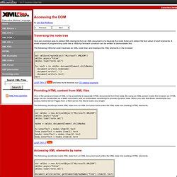 xml tutorial for experienced xml pearltrees