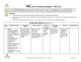 exle of a work plan template best photos of sle work plan format sle work plan