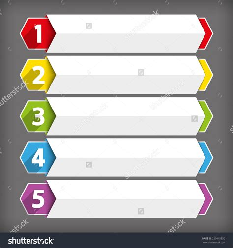 black design template layout numbers various stock photo photo