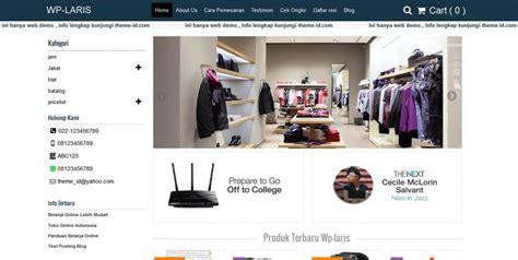 Laris Promo X Berbpom toko populer tokosatu jasa pembuatan website dan toko