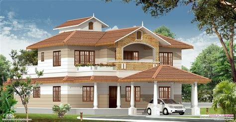 kerala home with interior designs style house 3d models