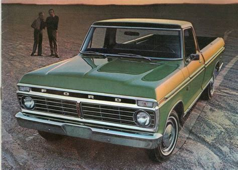 1973 Ford Truck by 1973 Ford Truck In Silent Throwback Thursday